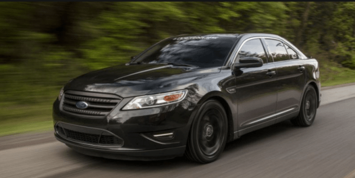 66 The Best 2020 Ford Taurus Sho Engine
