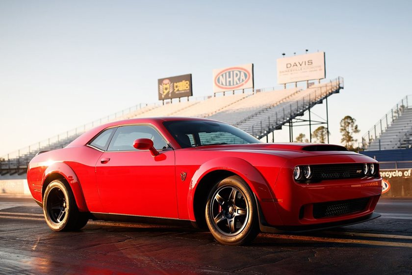 67 A 2019 Dodge Challenger Srt Model