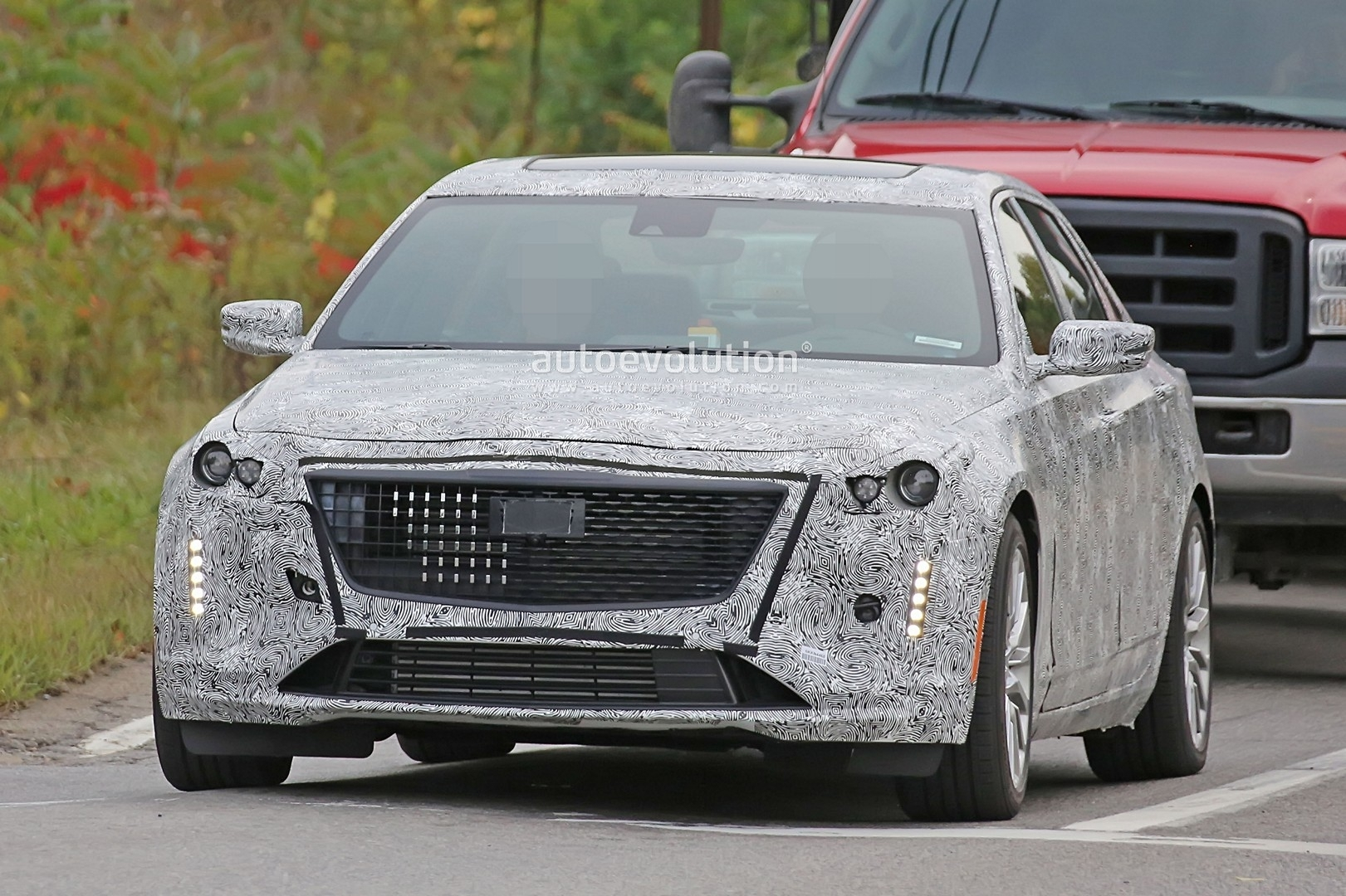 67 A Spy Shots Cadillac Xt5 Speed Test