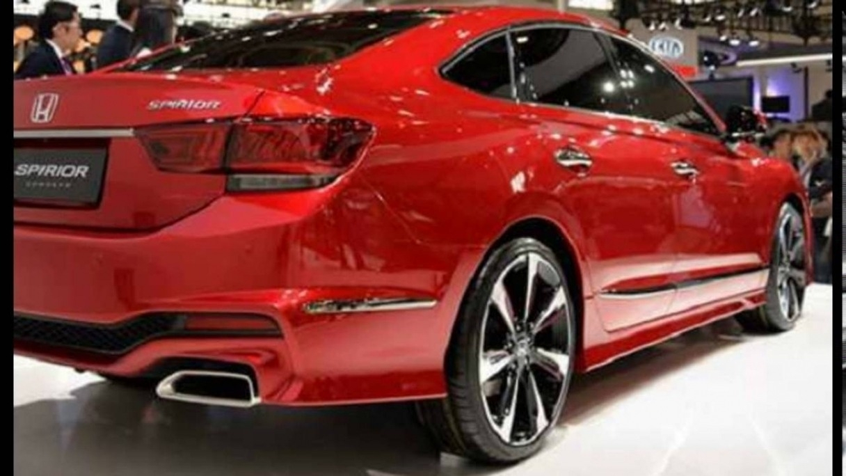 67 The 2020 Honda Accord Coupe Spirior Model
