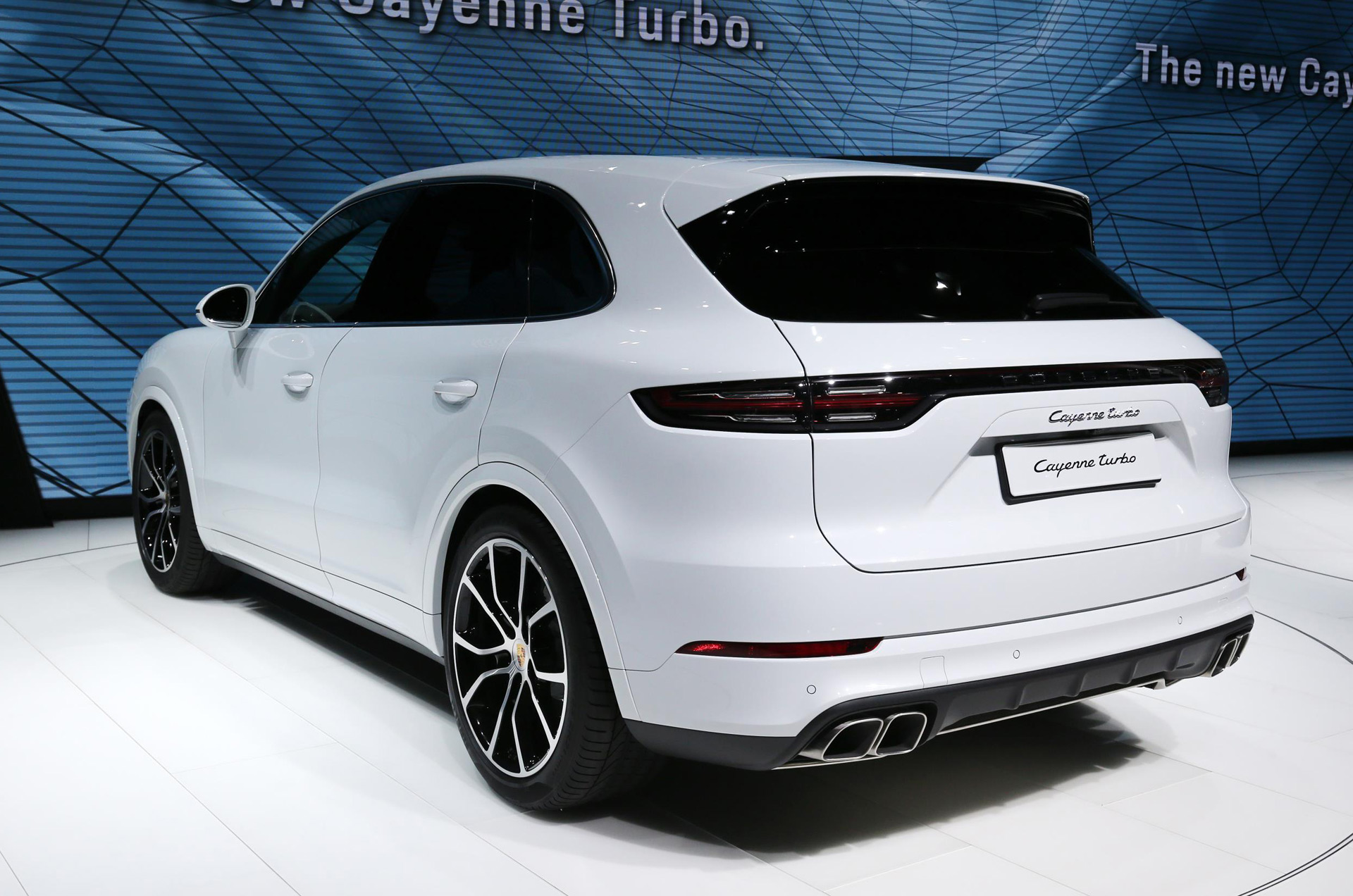 68 A 2019 Porsche Cayenne Turbo S Overview