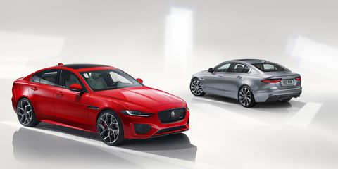 68 A 2020 Jaguar XE Wallpaper