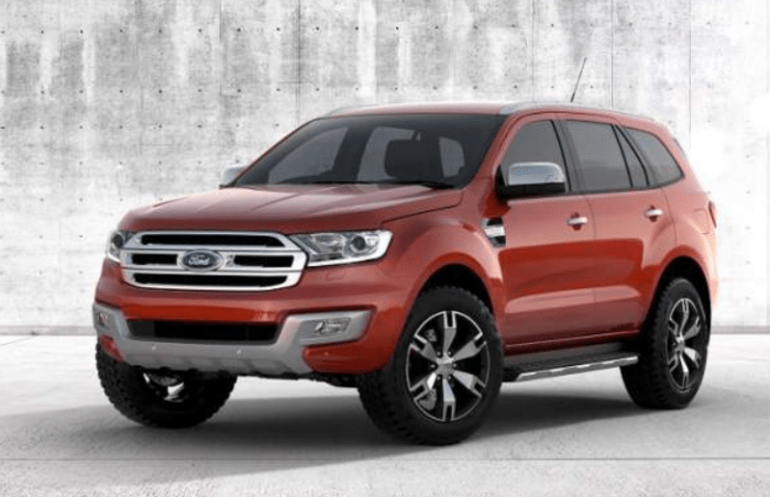 68 The 2020 Ford Everest Release Date