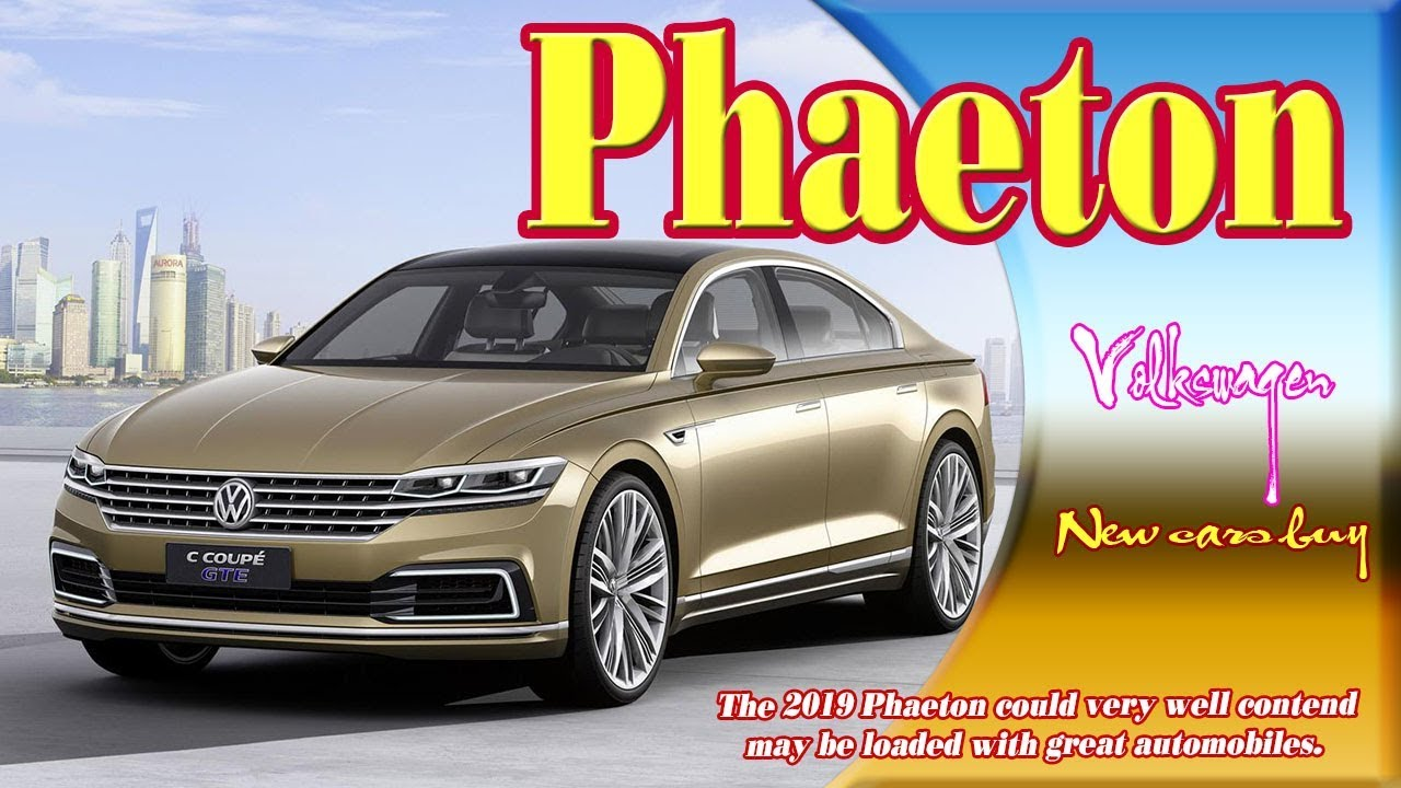 69 All New 2019 VW Phaeton Review and Release date