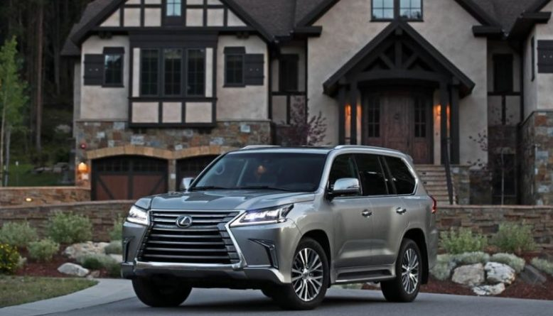 69 The 2020 Lexus LX 570 Concept