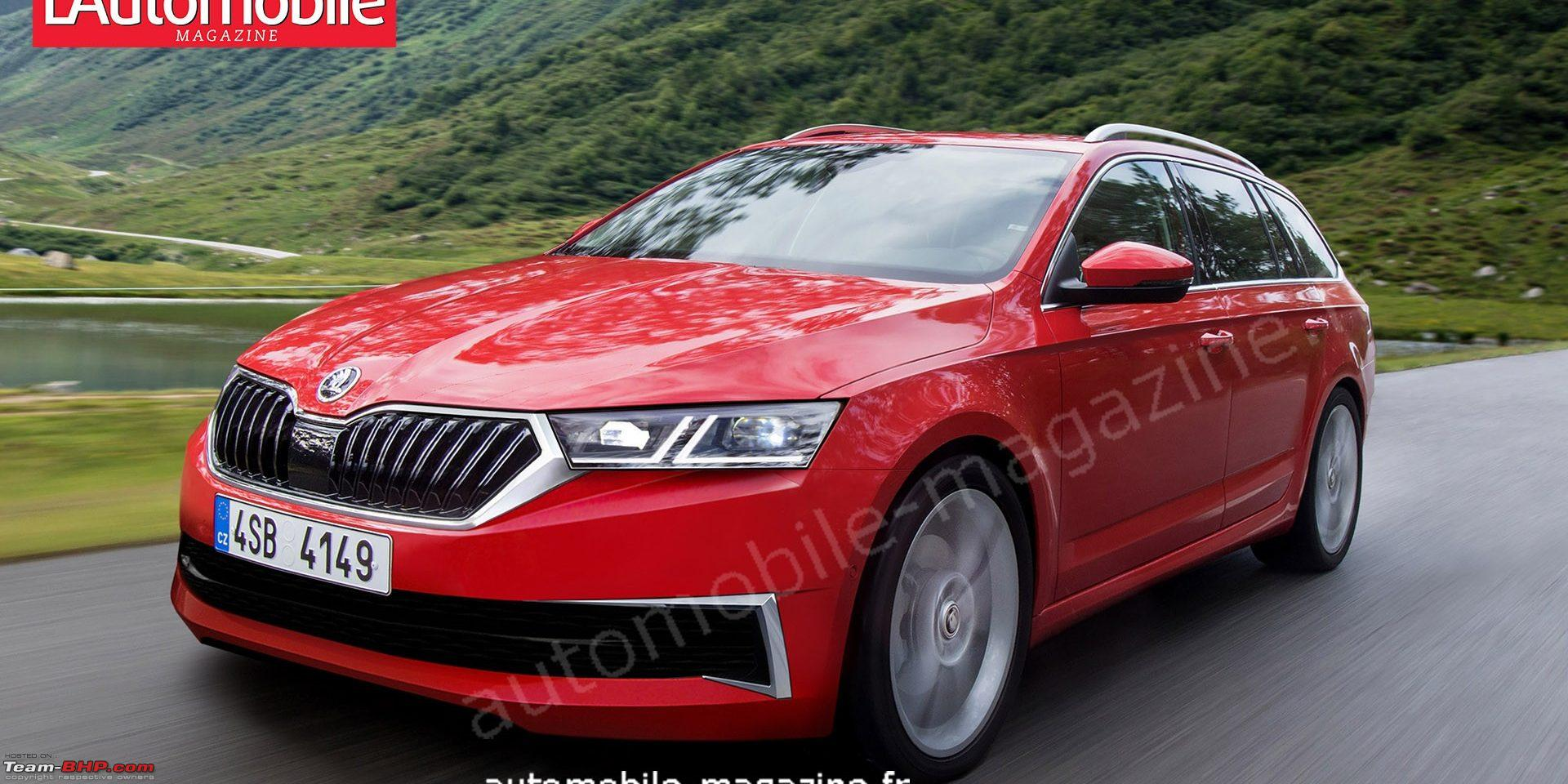 69 The 2020 Skoda Superb Photos