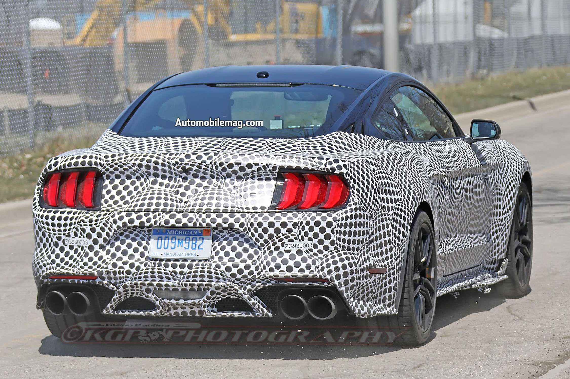 71 A 2020 The Spy Shots Ford Mustang Svt Gt 500 New Concept