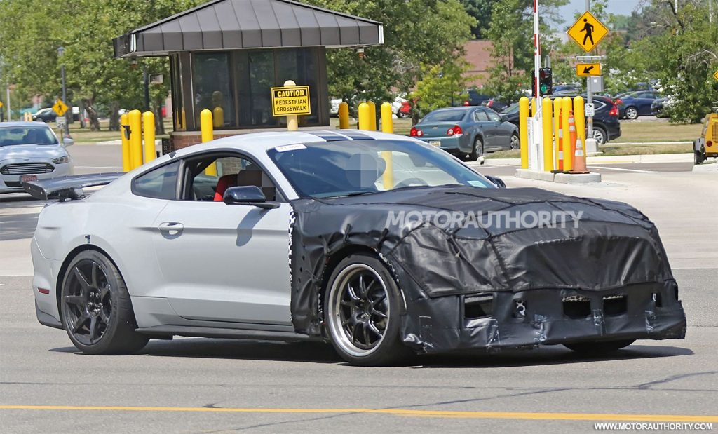 71 The 2020 The Spy Shots Ford Mustang Svt Gt 500 Price and Review