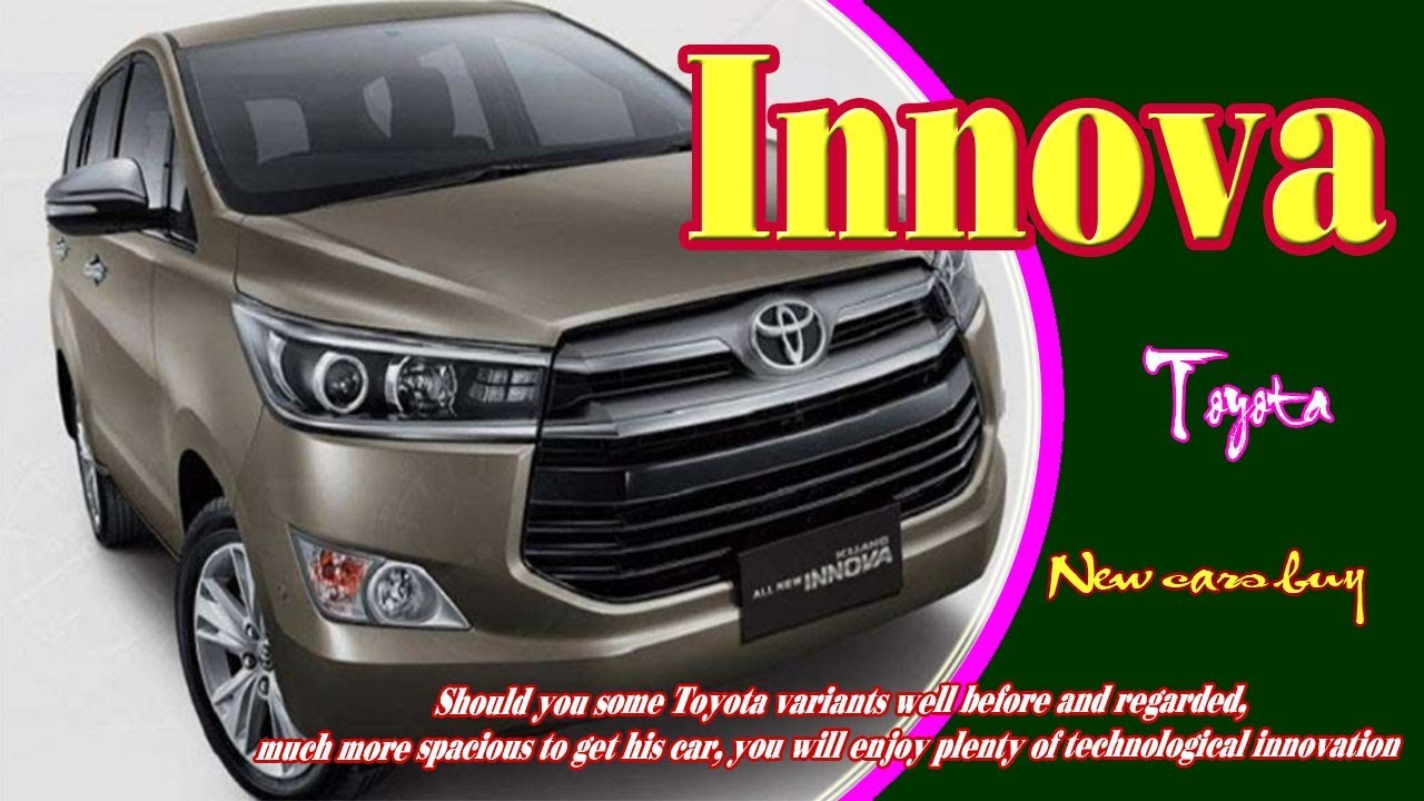 71 The Best 2020 Toyota Innova Redesign and Concept