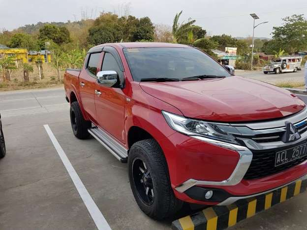72 A 2019 Mitsubishi L200 Spy Shoot