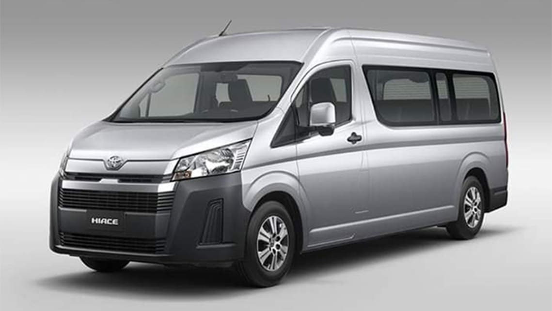 72 The 2020 Toyota Hiace Interior