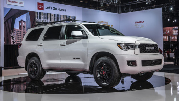 72 The 2020 Toyota Sequoia Interior