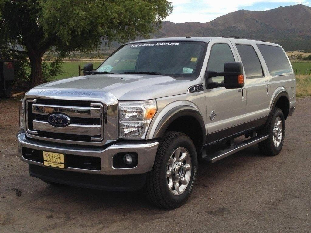 72 The Best 2019 Ford Excursion Diesel Exterior