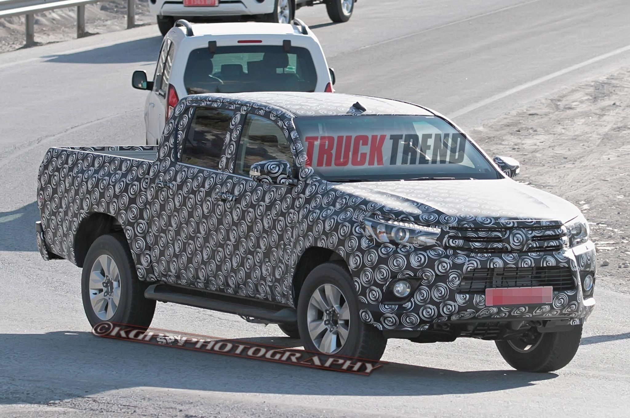 72 The Best 2019 Toyota Hilux Spy Shots Redesign and Review
