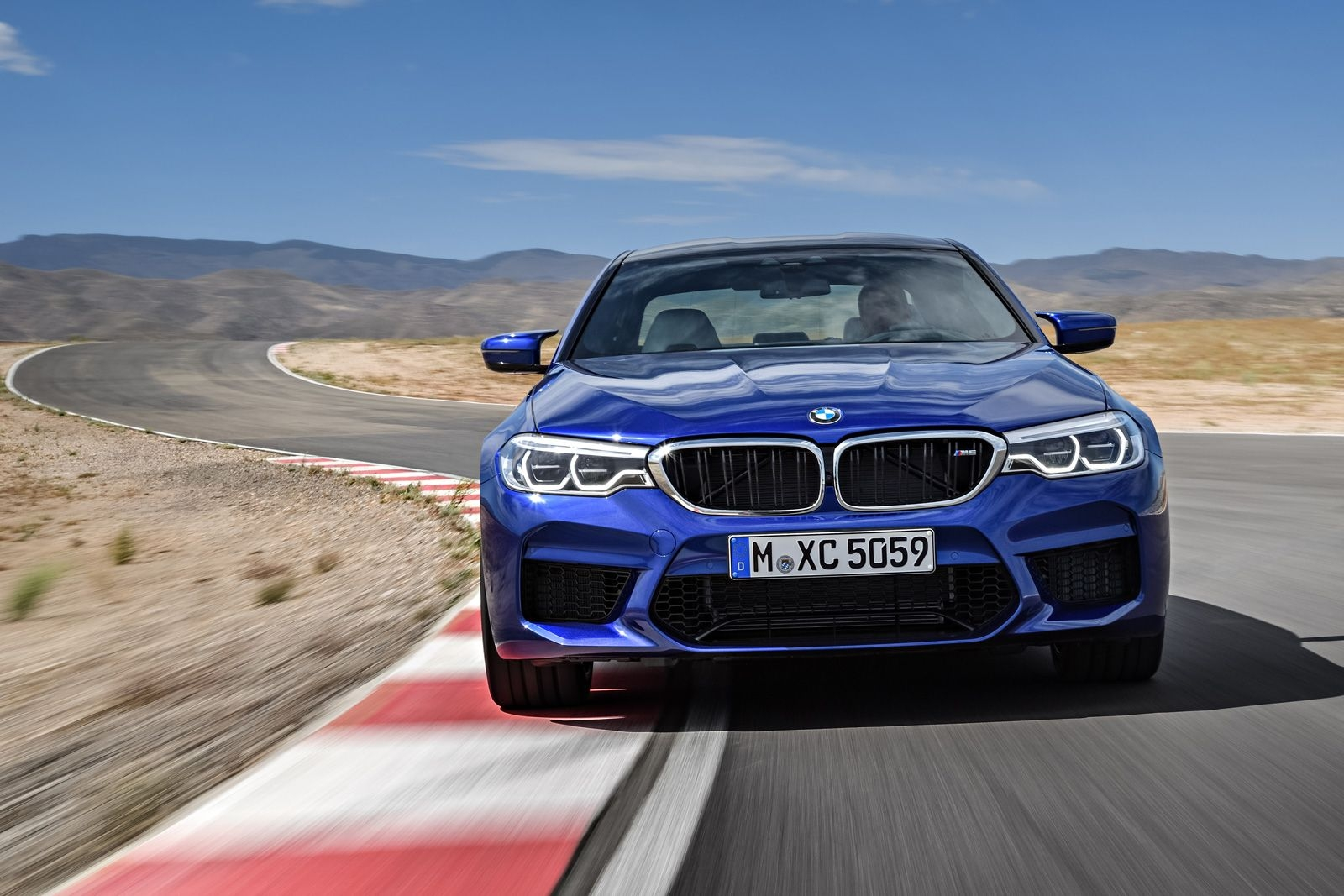 73 A 2020 BMW M5 Get New Engine System Pictures