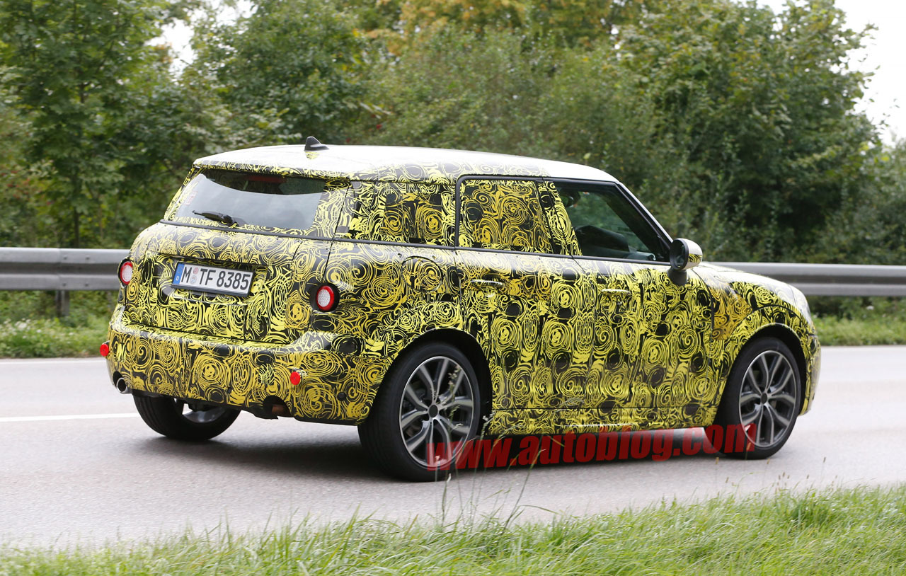73 All New Spy Shots Mini Countryman Interior