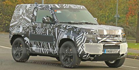73 The 2020 Land Rover Defender Model