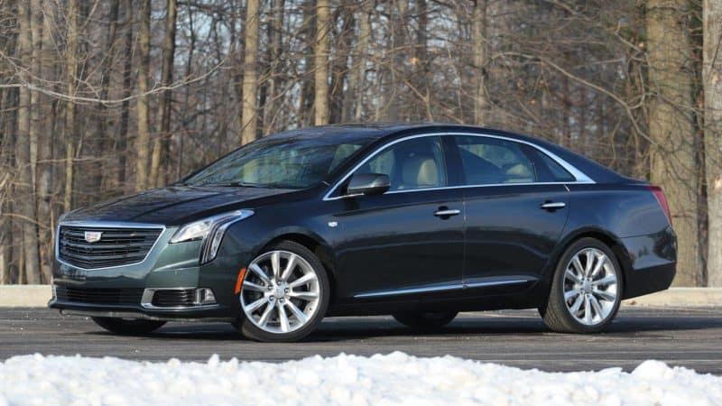 74 A 2020 Cadillac XTS Release