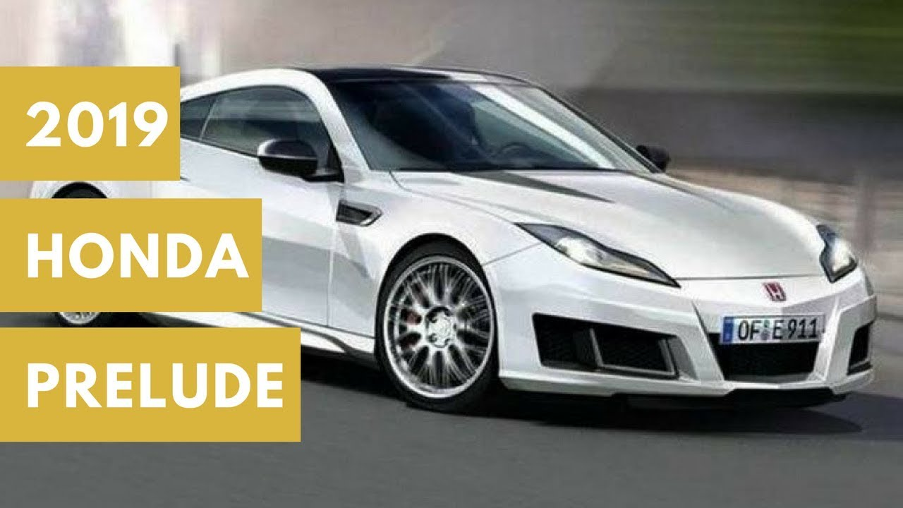 74 All New 2020 Honda Prelude Type R Concept and Review