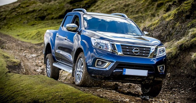 75 A 2020 Nissan Navara Spy Shoot