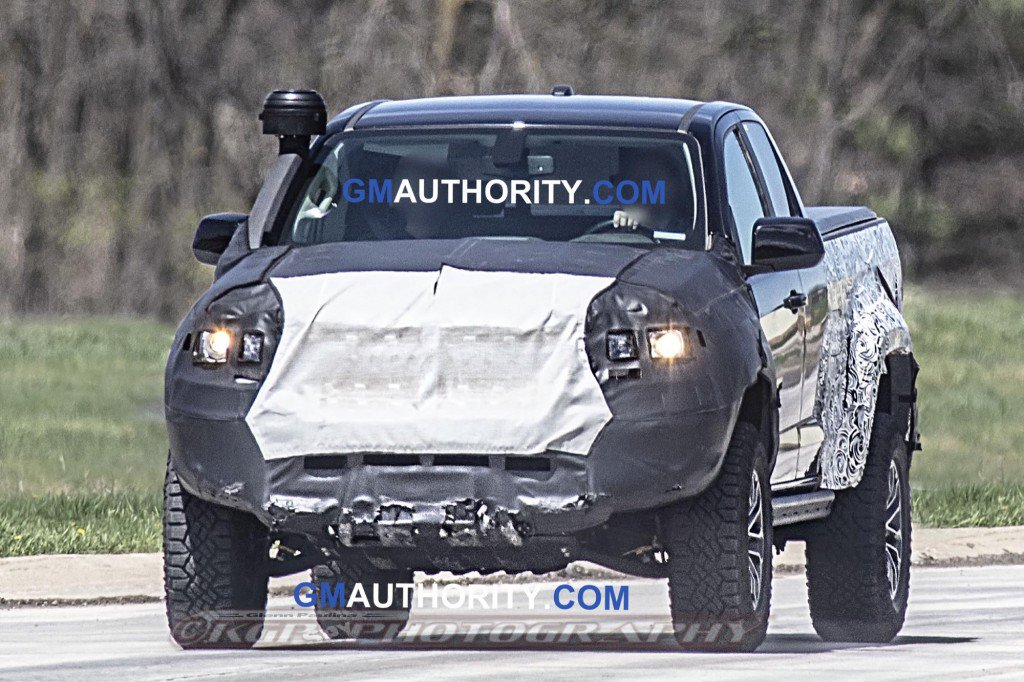 75 The 2020 Chevrolet Colorado Z72 Spy Shoot