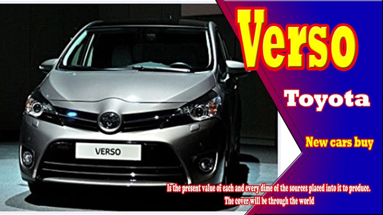 76 All New 2020 Toyota Verso Price