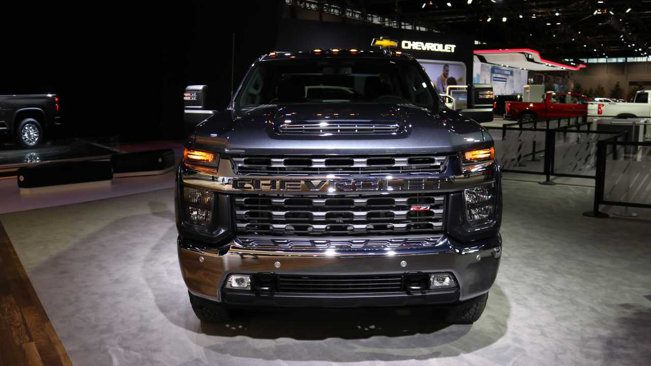 77 The 2020 Chevy Silverado Hd Engine