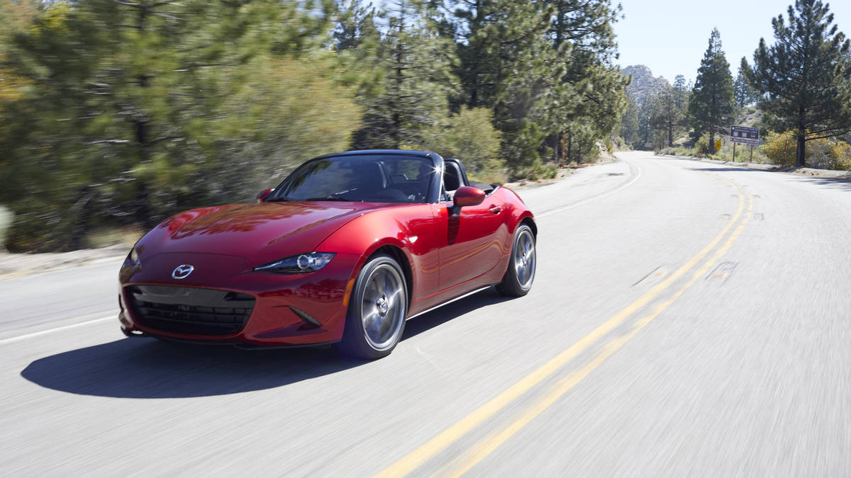 78 The Best 2019 Mazda Mx 5 Miata Interior