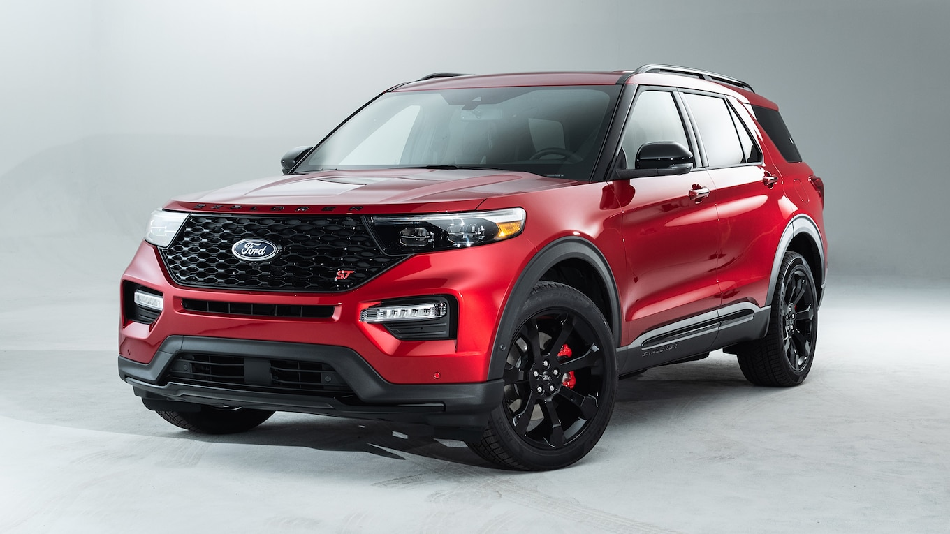 79 A 2020 The Ford Explorer Pictures
