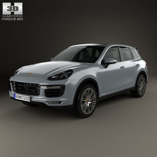 79 A Porsche Cayenne Model Speed Test