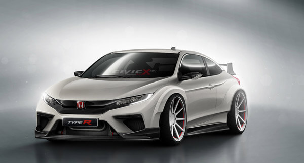 80 A 2020 Honda Civic Type R Exterior and Interior