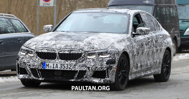 80 A Spy Shots BMW 3 Series Interior
