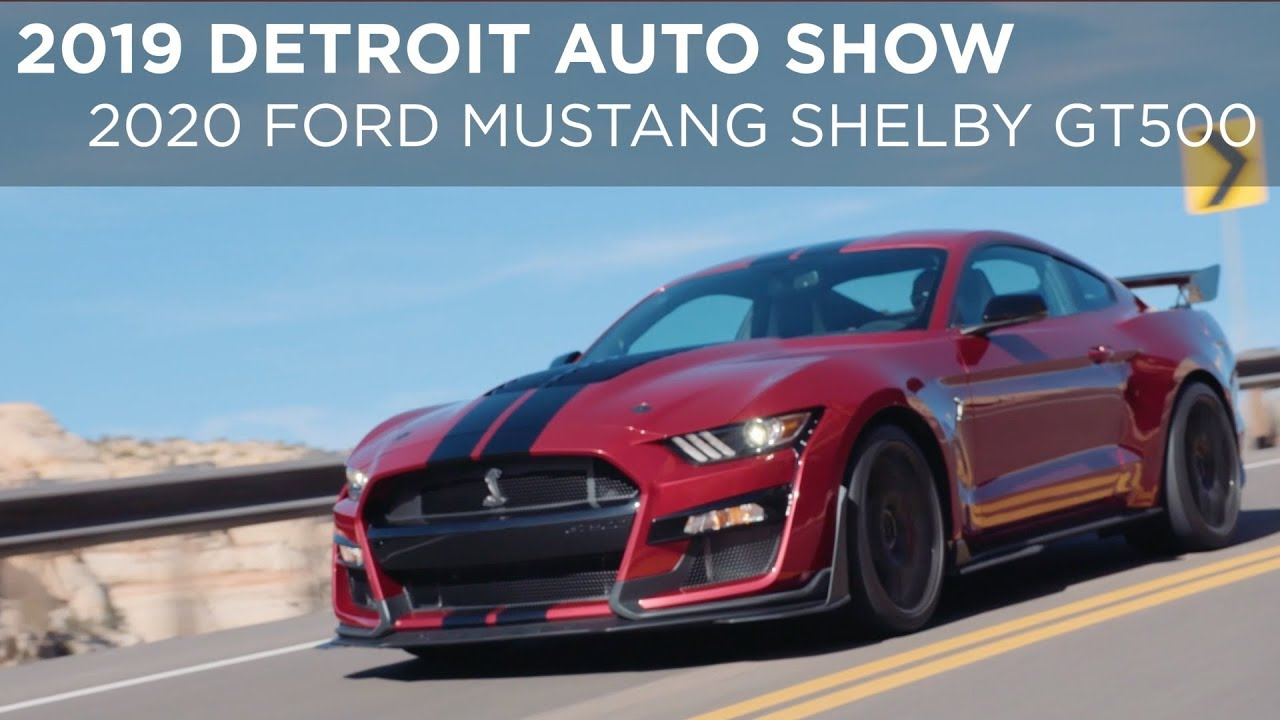80 All New 2019 Ford Mustang Shelby Gt500 Performance