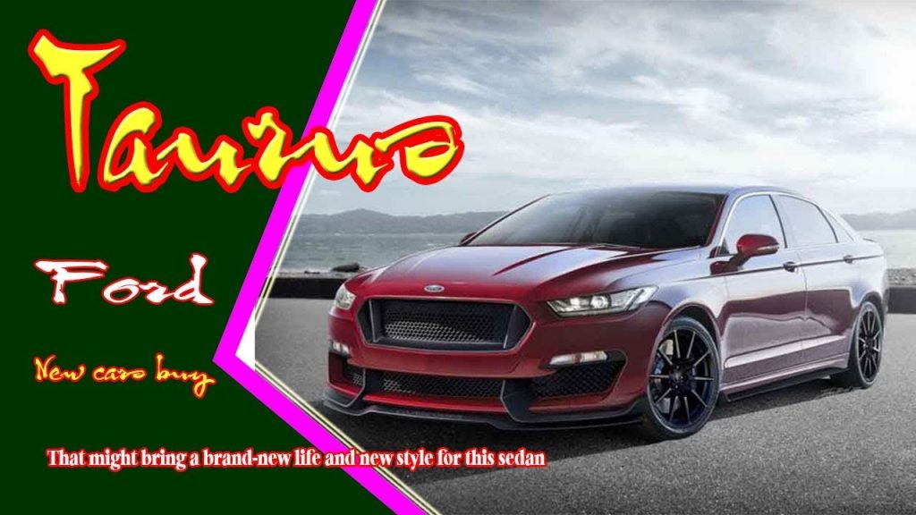 80 All New 2020 Ford Taurus Sho Specs and Review