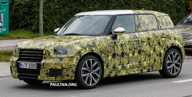 80 New Spy Shots Mini Countryman Specs and Review