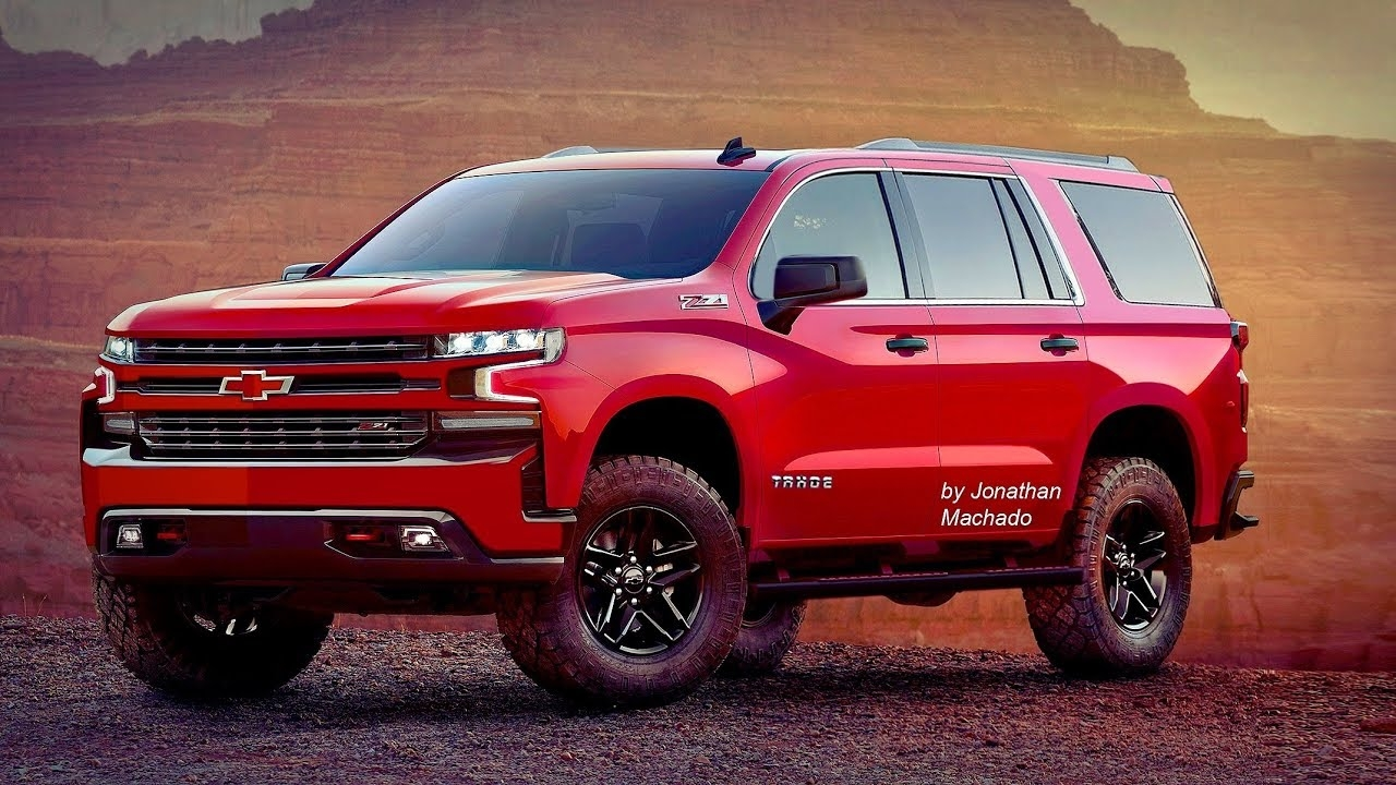 81 A 2019 Chevy Suburban Z71 Configurations