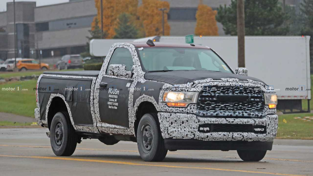 82 A 2020 Dodge Power Wagon Overview