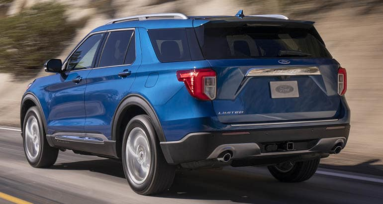 82 New 2020 The Ford Explorer Release Date and Concept