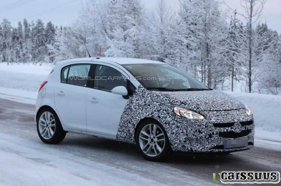 82 The 2019 Opel Corsa Engine
