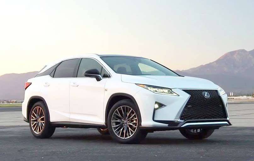 82 The Best 2019 Lexus Rx 350 F Sport Suv Ratings