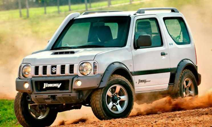 83 A 2020 Suzuki Jimny Model Engine