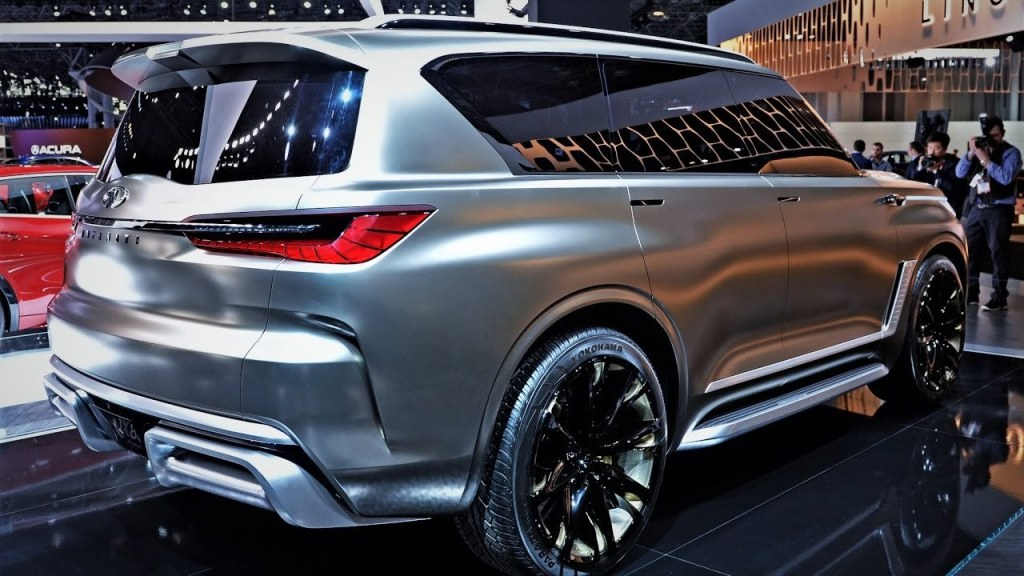 83 All New 2020 Infiniti QX80 Exterior