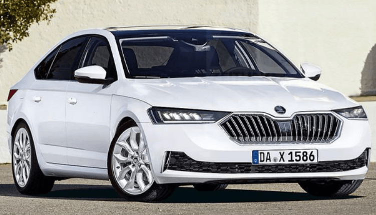 83 The 2020 New Skoda Superb Exterior