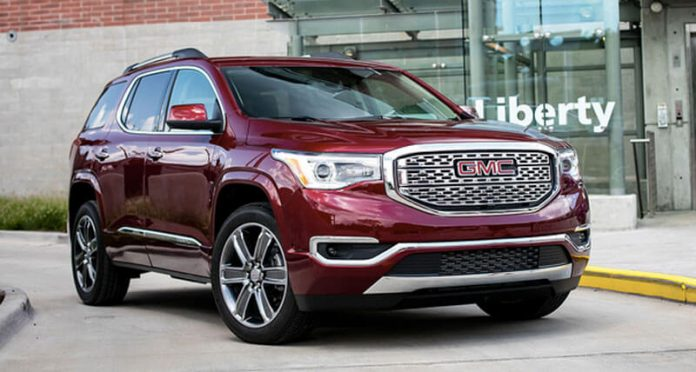 84 The 2020 GMC Acadia Spesification