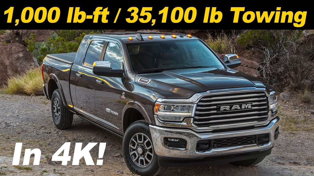 85 A 2019 Ram 3500 Diesel Speed Test