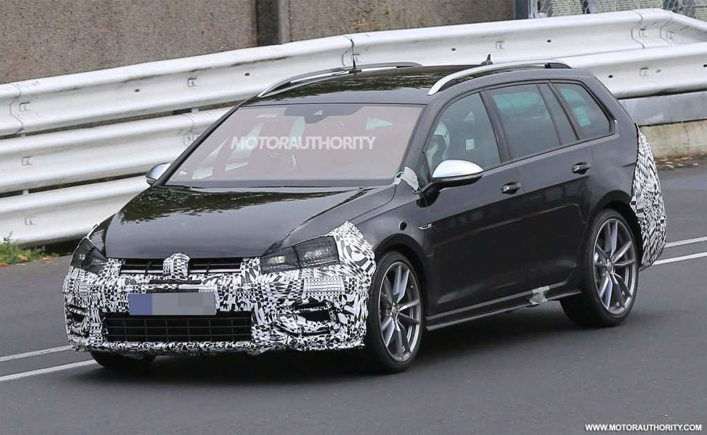 85 A 2020 Vw Golf Sportwagen Spy Shoot