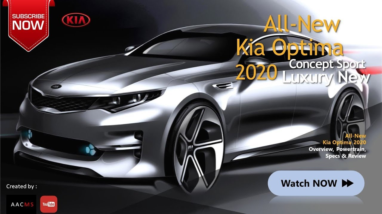 85 New 2020 Kia Optima Redesign and Concept