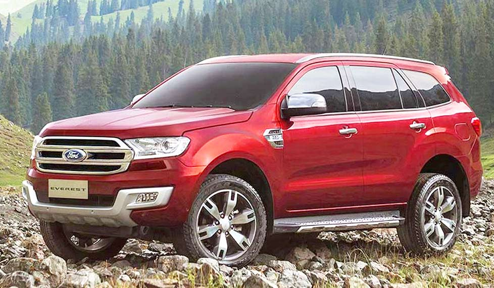 85 The 2020 Ford Everest Images