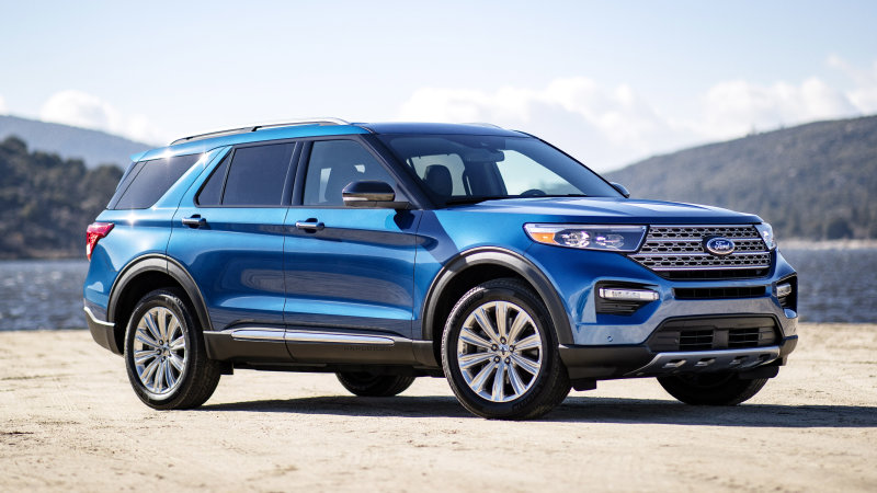 85 The 2020 Ford Explorer Wallpaper