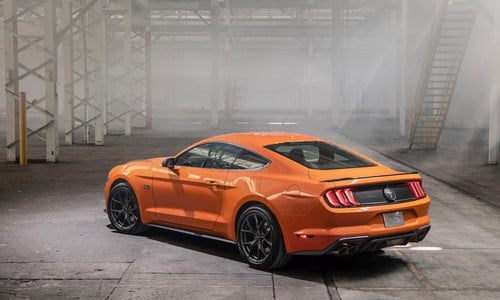 85 The 2020 Mustang Engine
